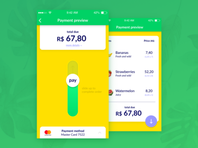 Daily UI 002 — Payment preview