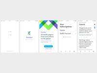 Medical paper platform