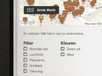 Maps interface
