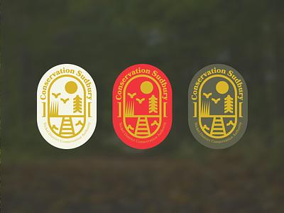 Conservation Sudbury Badge Logo — Part 2 brand identity brand design brand conservation badges badge logos type logo badges logo badge branding logo vector design