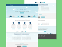 Sketch - Landing Page Concept Design