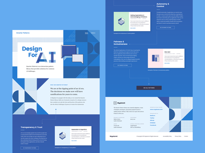Smarter Patterns - Detail iconography patterns website interface ui pattern library pattern library design ai