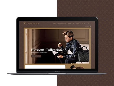 Louis Vuitton Website Redesign