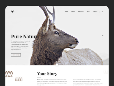 Playfair - Chapter One website web experiment white clean playfair typography layout ux ui