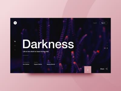 Dark Helvetica
