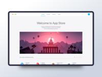 App Store UI Concept