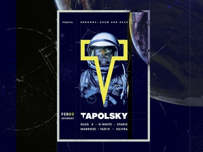 T-Module typography type poster music graphic freelance flyer design color