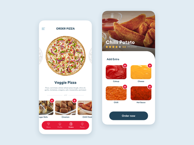 Domino's Pizza App ux design ui design app design product design ux ui ux design app concept ui