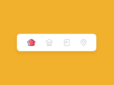 Tab Bar Interaction ui design product design design app design app concept ui ux ux ui tab tab bar interaction icons icon