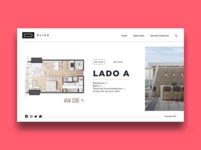 Blick website