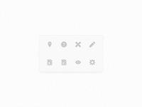 8 icons