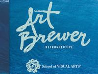 Art Brewer exhibition logo