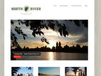 North River Running website