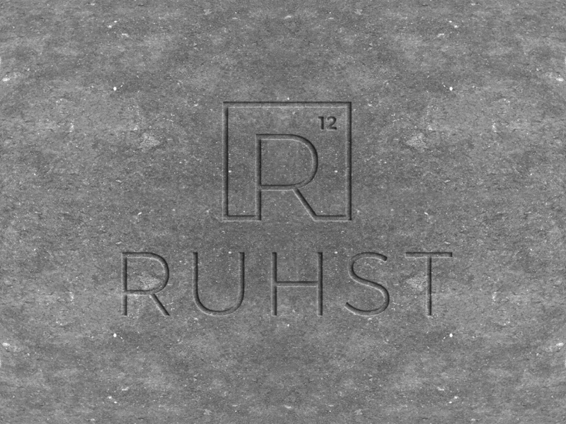 Ruhst Branding typography iconography icon logotype corporate branding brand identity logo branding