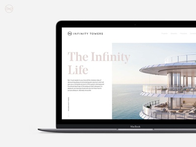 Web design for large Real State project