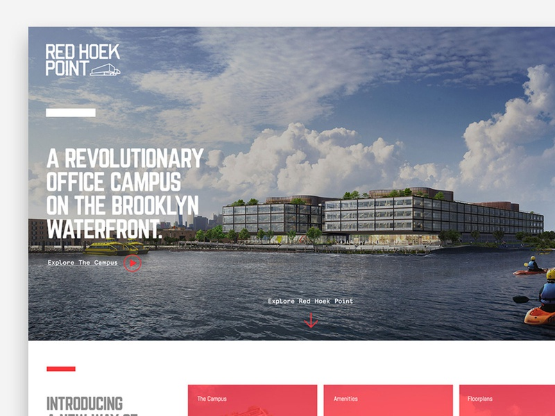 Web Design for major Real State project in NY