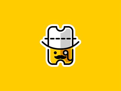 Mr Coupon character mascot dualmeaning couponlogo logoforsale reward cute logodesign logo coupon mister