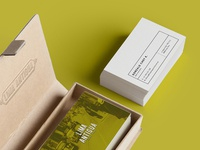 Lima Antigua Restaurant design branding restaurant business card