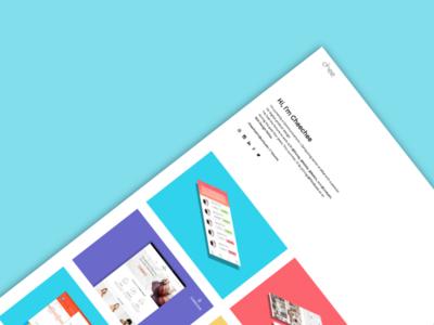 Hello Dribbble!  web product design portfolio debut ui ux