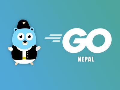 Golang Mascot for Nepal