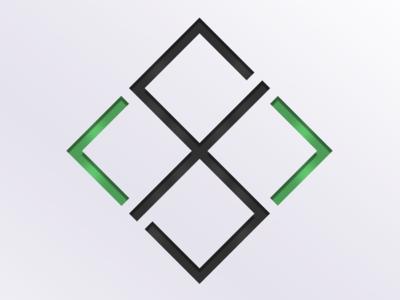 Professional Services Logo symmetry concept code logo