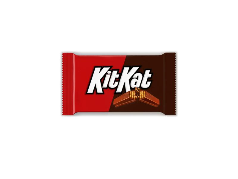 KitKat dribbbleweeklywarmup chocolate packaging candy kitkat chocolate chocolate bar