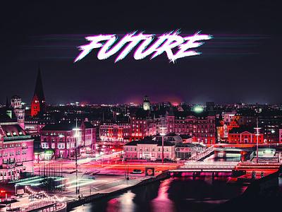 Future AlboumCover cyberpunk future cover