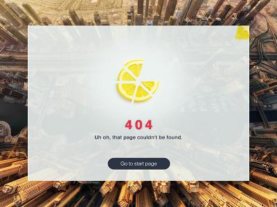 Dailyui 008 - 404 page whitespace dailyui