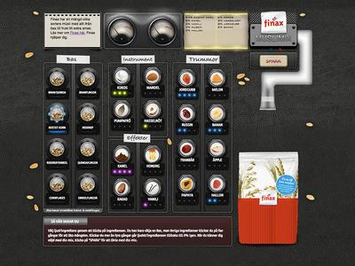 Finax Musli mix app finax