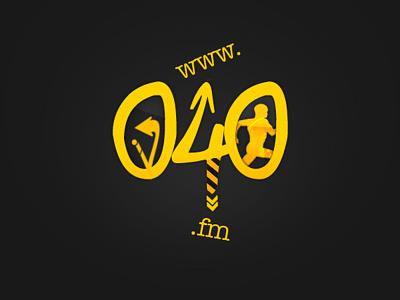 040.fm Logo Design logo 040.fm