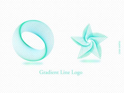 Gradient Line Logo