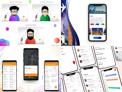 2018 website mock chat xd design mobile app dashboard vector typography branding logo illustration web android ux visual design uidesign