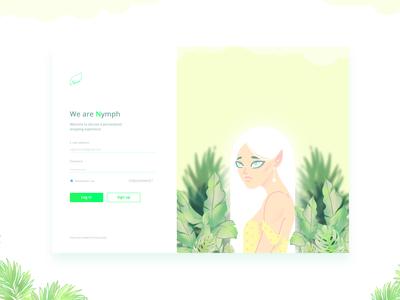 Nymph - An online shopping portal