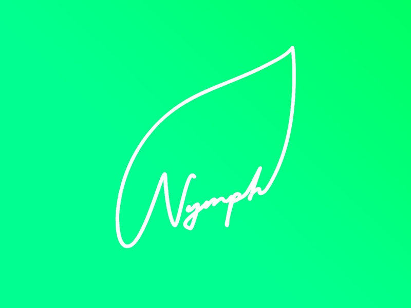 Nymph - Logo design flatdesign corporate identity identity design interaction design illustration graphic design ear nymph branding and identity branding logodesigner logo design logodesign logo alphabet logo 2d logo vector concept design uiux ui
