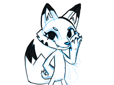 WIP - Flurry the Fox!