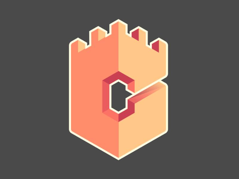 Logo for building company modern buildings logo