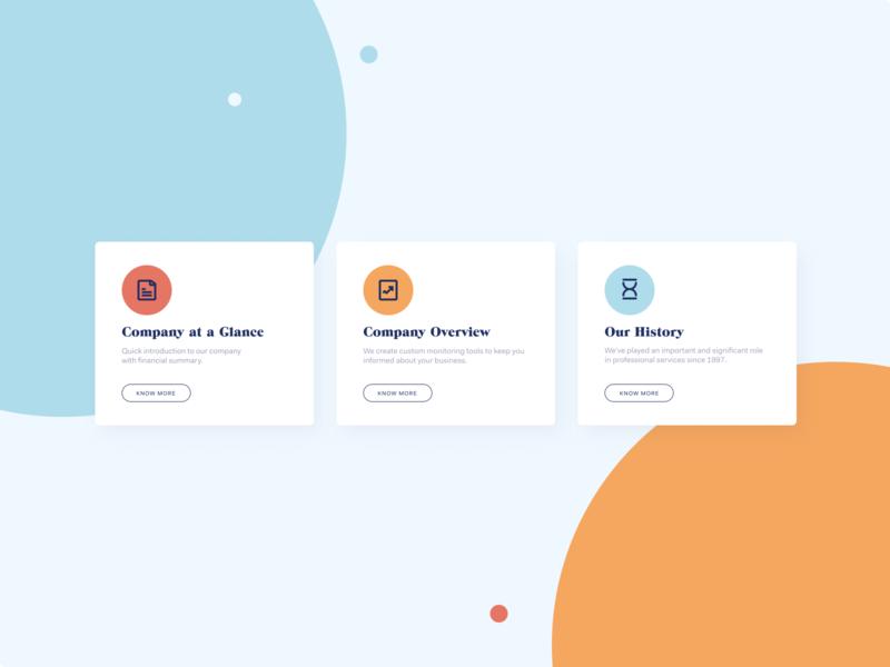 About Us UI Design
