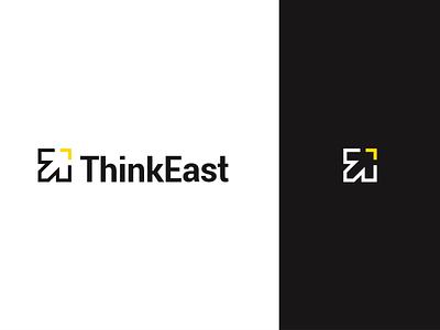 ThinkEast -  Brand Identity Design logodesign arrow icon branding brand logo
