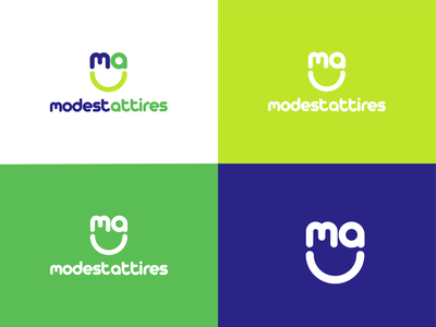 Modest Attires Logo agency logodesign art typography srinagar app branding city design logo wordmark typograpghy kashmir ecommerce logo ecommerce attire modest