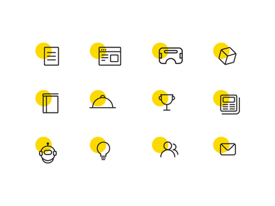 Iconography idea contact medal achievement offer product icon product vr design research illustration icons asset iconographic iconography icon a day icon collection icon artwork icon branding