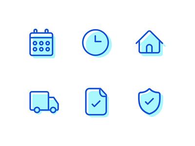 An icon set for a healthcare portal icon artwork ui design icon a day app icon app icon