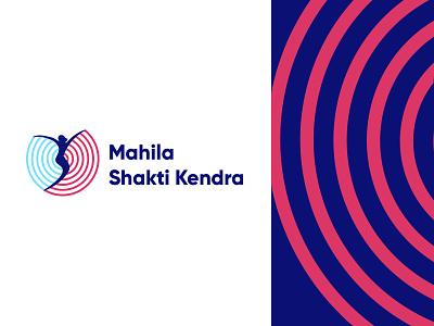Logo Design for Mahila Shakti Kendra logodesign icon artwork iconography typography icon illustration design branding brandbook logo design logo