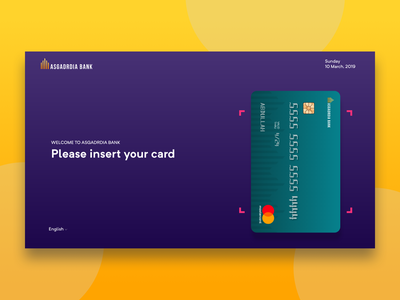 ATM Redesign flat web animation ux ui app typography icon design redesign atm