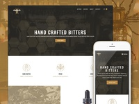 Beehive Bitters Website