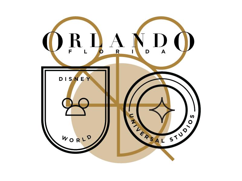 Orlando badge florida disney orlando
