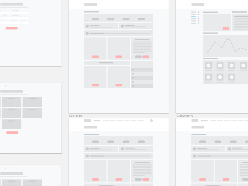 Wireframing process simple ui ux wireframing flat wireframe