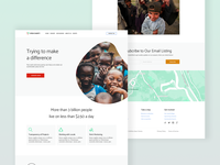 Open Charity - Landing Page