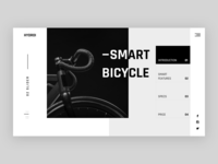 Smart Bicycle - Landing Page