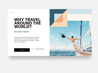 Travel Around - Article Page Concept
