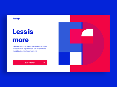 Parley - Subscribe Concept